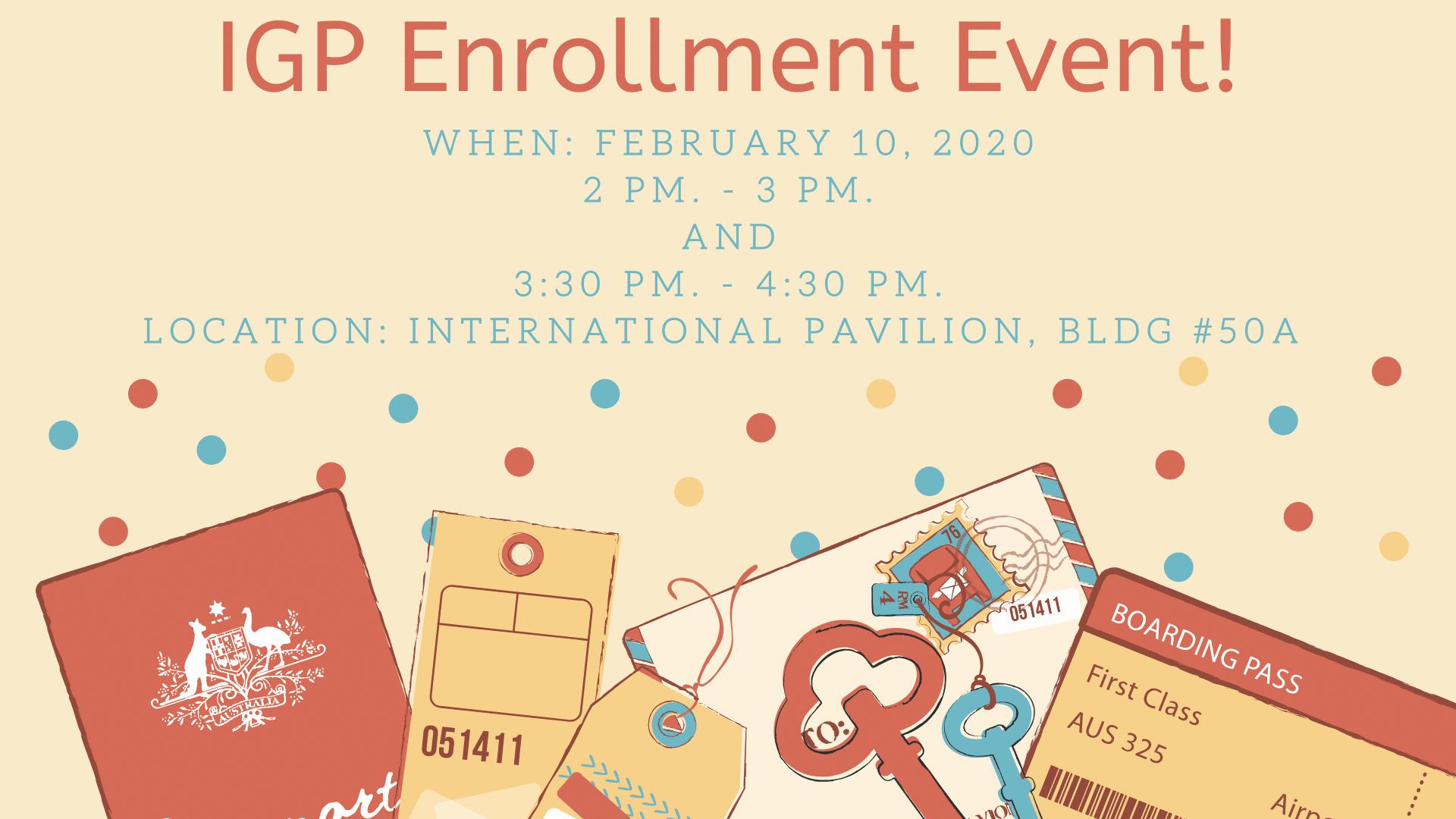 IGP Enrollment Event