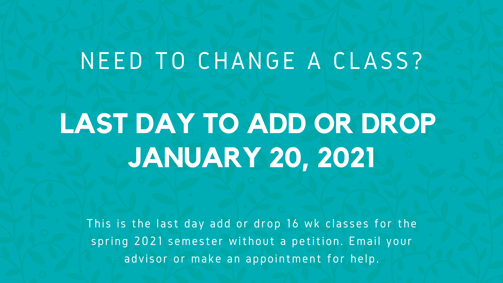 Last day to Add _ Drop fall 2021 v2