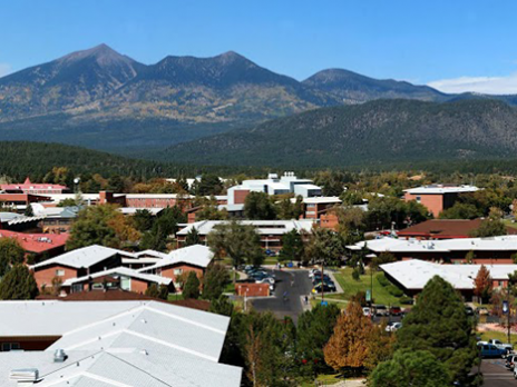 shot of Flagstaff campus