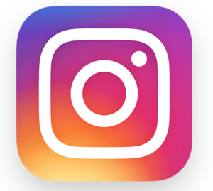 instagram logo for callout of our page