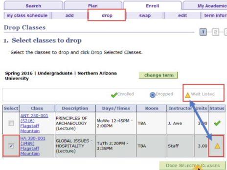 Class wait list FAQs   Office of the Registrar