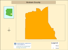 Graham county map
