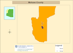 Mohave county map