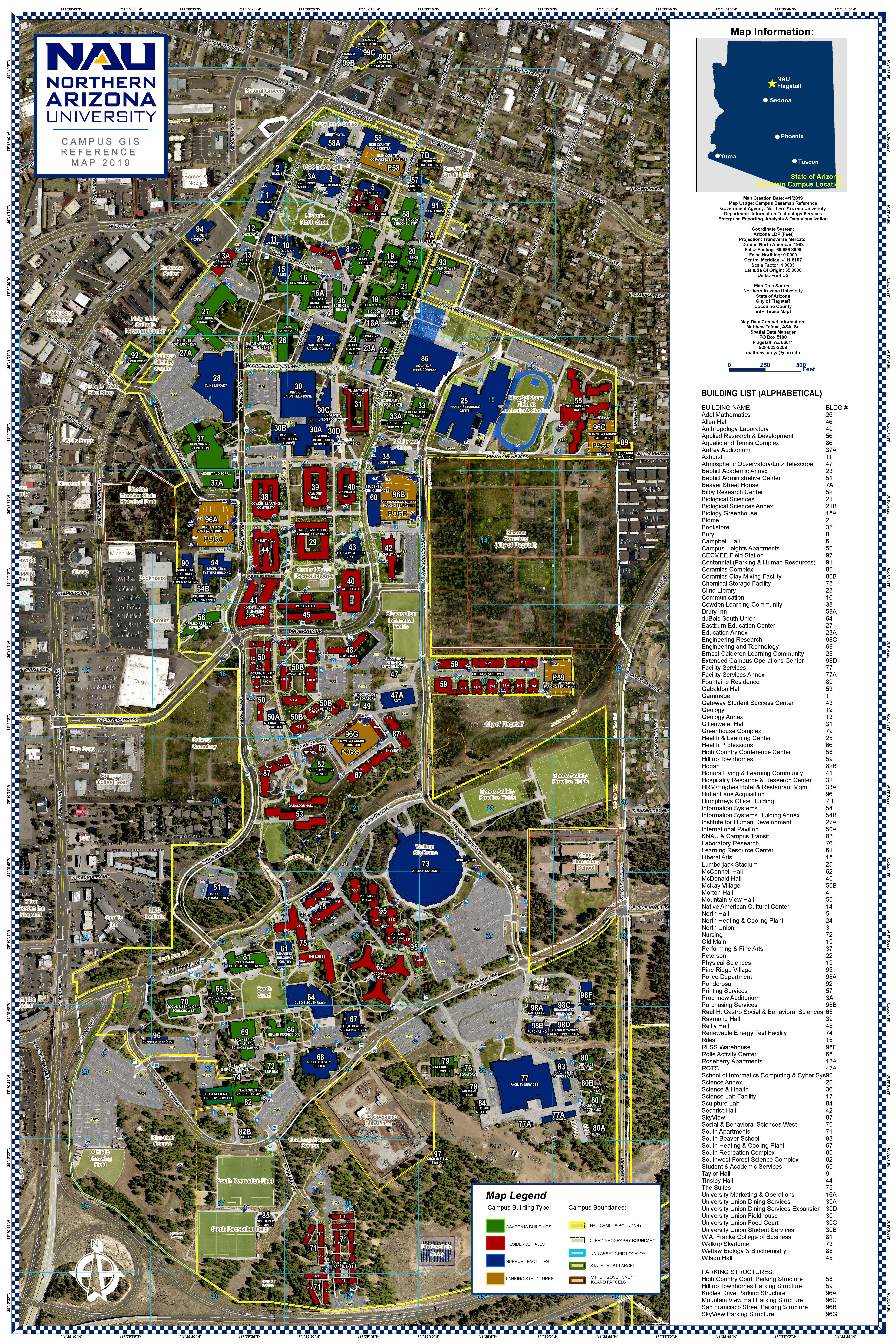 GIS campus reference maps | Information Technology Services