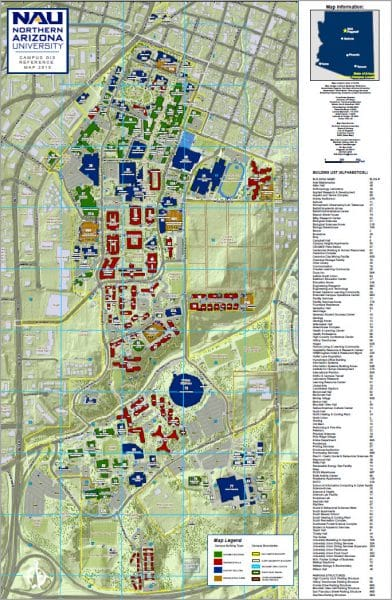 Campus map - GIS