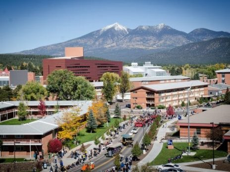 NAU Campus in Flagstaff