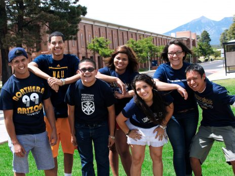NAU students group photo