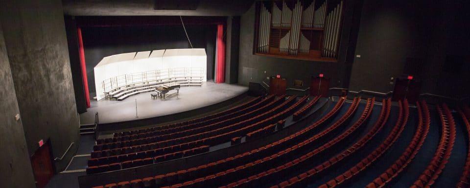 Top view of Ardrey Auditorium
