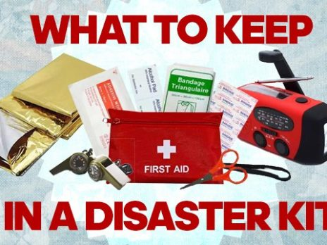 Disaster kit items