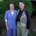 Cathy Small with spouse Phyllis