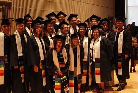 rainbow convocation students