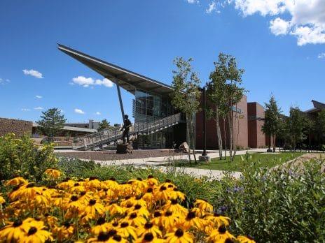NAU Student Unions on campus.