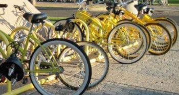 Yellow Bike program for NAU students.