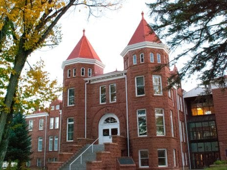 Old Main building in north campus.