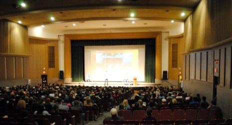 View of Prochnow auditorium