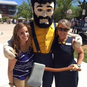 Alaina and Shannon with Louie