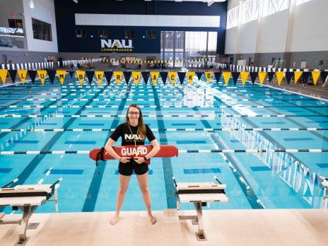 WAC pool women life guard
