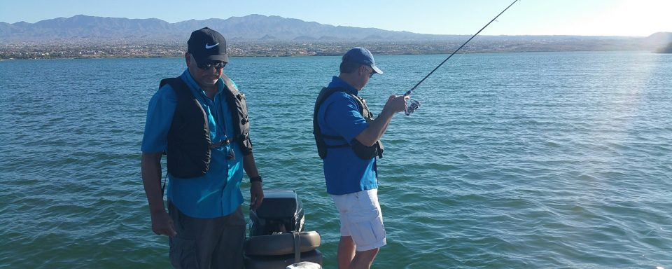 fishing on Lake Havasu