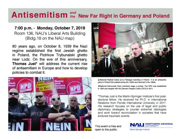 Antisemitism Event Poster