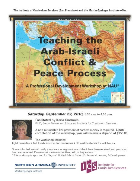 Arab-Israeli Conflict Event Poster
