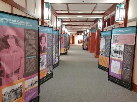View of Exhibit Panels