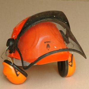 Chainsaw helmet