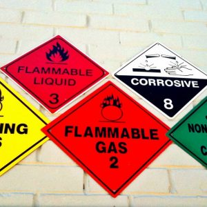 Hazardous Communications Signs