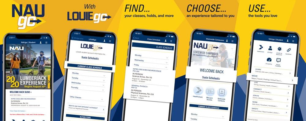 NAUgo screen compilation
