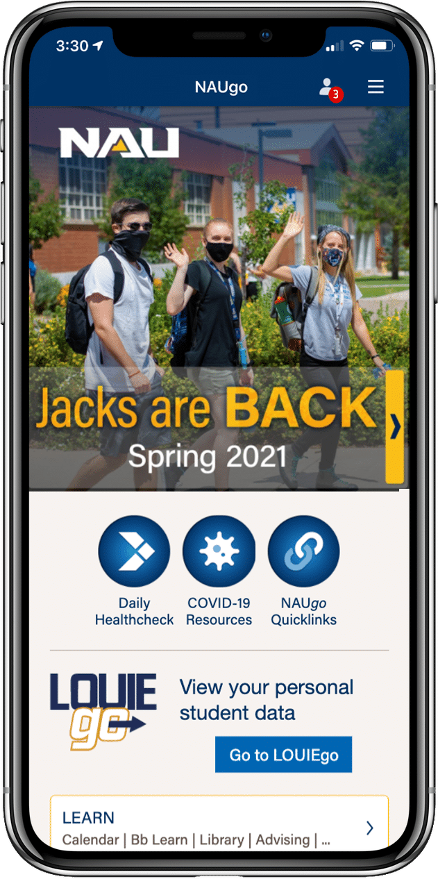 Home screen showing Jacks Are Back banner