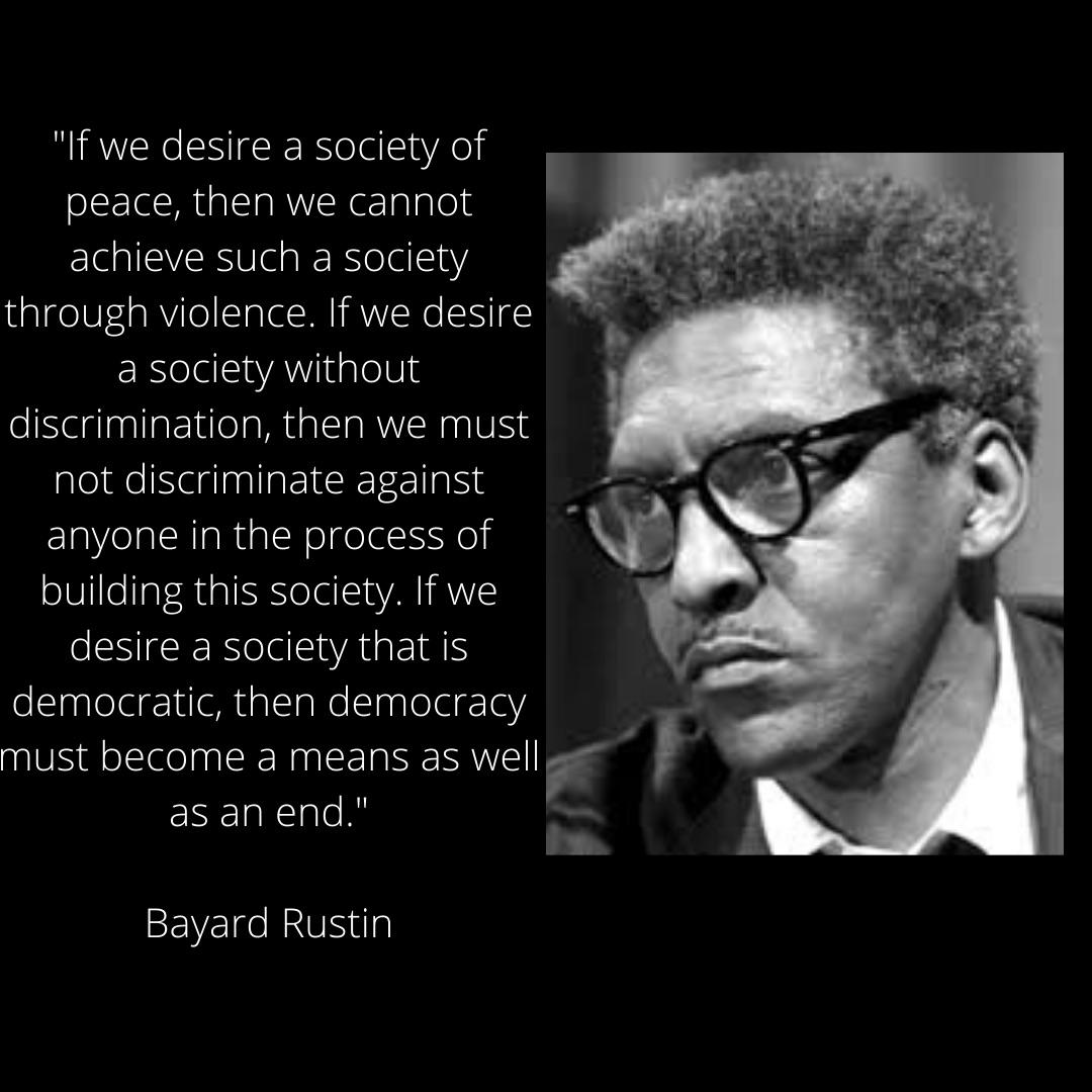 Bayard If We Desire Peace