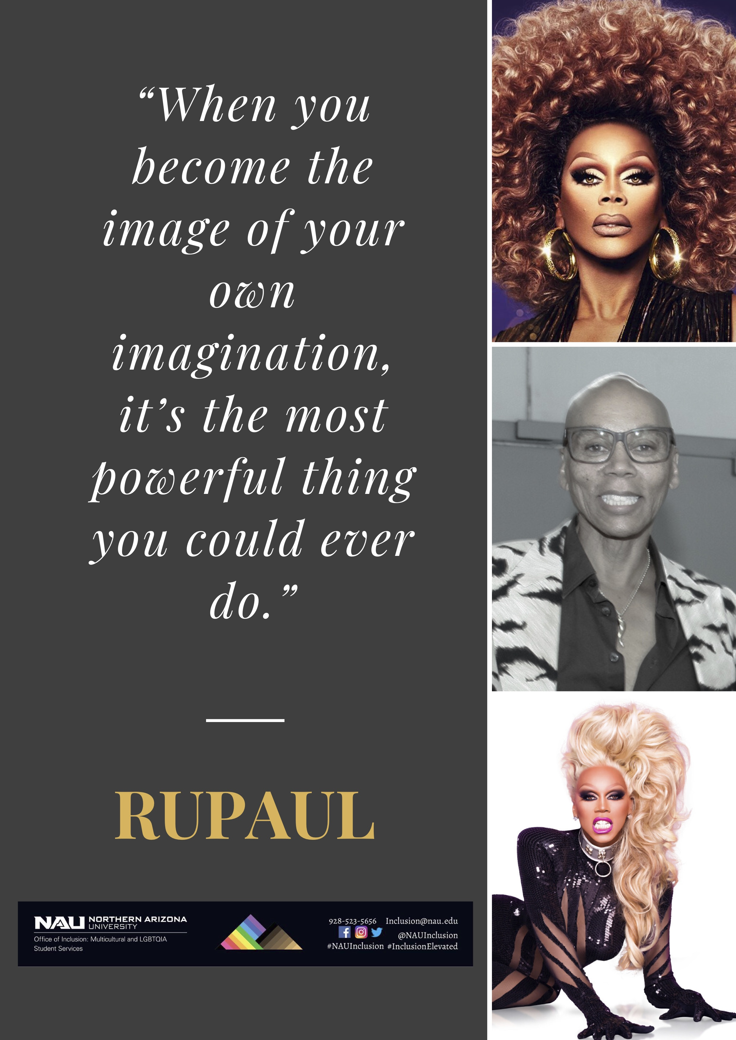Rupaul Image of Your Own