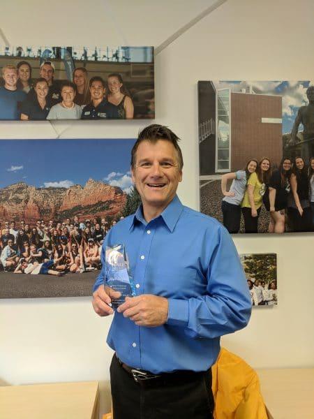 Mark Despain 2019 SPAC Leadership Awared Winner