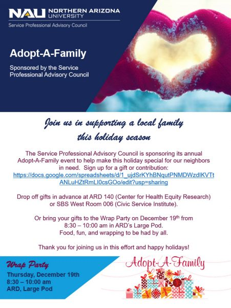 Adopt-a-Family Flier - Click for PDF