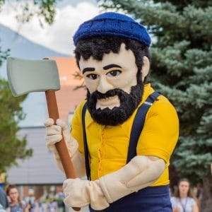 Picture of Louie the Lumberjack
